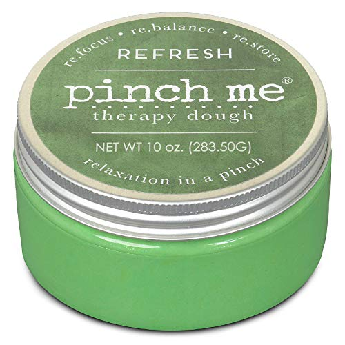 Pinch Me Therapy Dough - Holistic Aromatherapy Stress Relieving Putty - 10 Ounce… (Refresh)