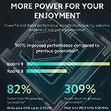 Xiaomi Redmi 9 Smartphone - RAM 4GB ROM 64GB AI Quad CAMÉRA 6.53' Full HD+ Display 5020mAh (typ)...