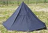 Unbekannt NATO Zelt Pfadfinderzelt Drachenform schwarz neuwertig mit Zeltstangen und Zubehör