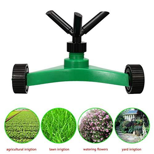 HXIANG Tuin Sproeier van het gazon Head Yard irrigatiesysteem Spuitbus tuin gazon Waterbesparing Tuingereedschap Gadgets 360 ° Rotating