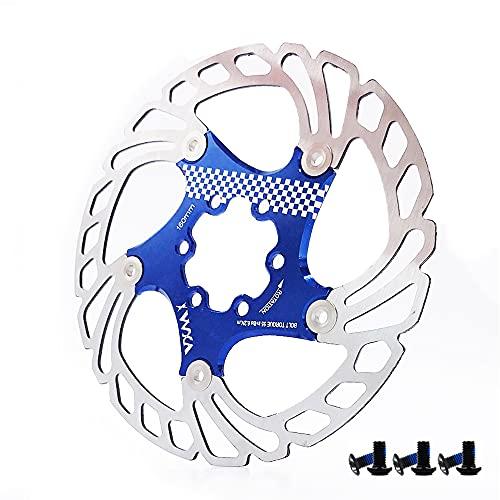 ZSSGSHR Brake Disc Pads 160mm Bike Brake Rotors MTB Cooling Float Disc Brake Bicycle Accessories Float Brake Disc Pads Rear Caliper (Color : 2 3)