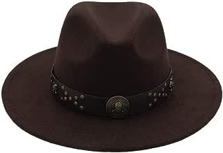 HaiNing Zheng Brand Jazz Hat Unisex Wool Wide Brim Fedoras Hats Women Vintage Wide Brim Floppy Chapeau Femme Panama Hat