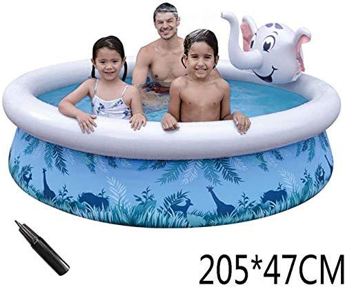 AJH Kinderbecken Aufblasbares Planschbecken Garten Oberirdische Pools Tiere für Kinder Der Garten im Freien für Erwachsene und Kinder