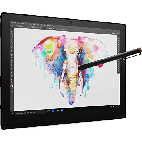 """Lenovo ThinkPad X1 Tablet, 12"""" Full-HD+ IPS Touchscreen w/Active Pen, Intel Core m5-6Y57 Dual-Core 1.1GHz, 256GB Solid State Drive, 8GB DDR3, 802.11ac, Bluetooth, Detachable Keyboard, Win10Pro"""