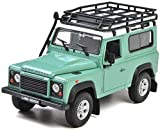 Modelo de Coche de aleación Land Rover Defender Range Rover Aurora 1:24 Ice...