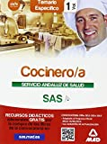 Cocinero/a del Servicio Andaluz de Salud. Temario específico volumen 1 (Andalucia (mad))