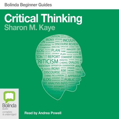 Critical Thinking: Bolinda Beginner Guides audiobook cover art