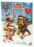 Holiday Advent Calendar Chocolates for Christmas, 24 Chocolate Days til' Christmas, Countdown Chocolate Calendar for Kids, Season Treats, Gift Ideas, Sweet Presents (PAW Patrol)