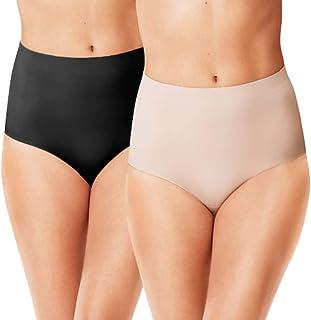 Warner's Womens Sleek Underneath Tummy Control Shapewear Briefs (Multi-Pack) Shapewear Briefs