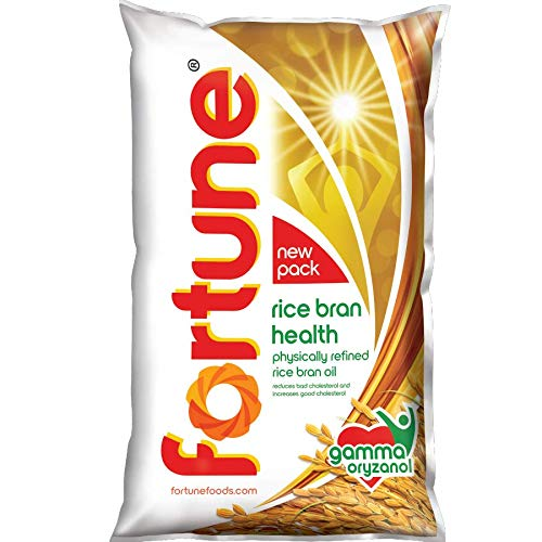 Fortune Rice Bran Health Oil, Cooking Oil for Healthier...