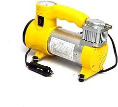 compressor de ar portátil 12V veicular p/pneu e infláveis c/lanterna e manômetro