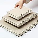 8 papel para bocetos de papel para dibujar pintura diario cuaderno profesional Bloc de notas arte de papelería suministros