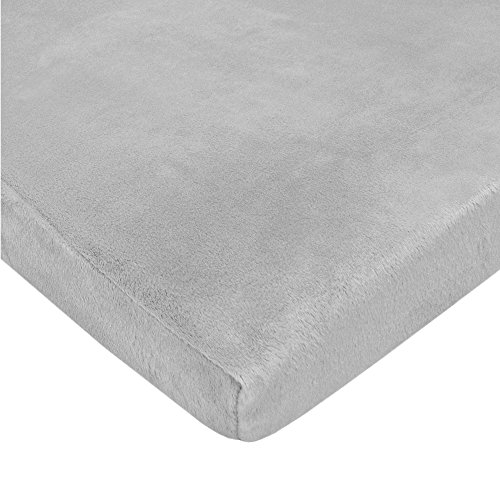 Cheap American Baby Company Heavenly Soft Chenille Fitted Pack N Play Playard Sheet, Gray, 27 x 39, ...