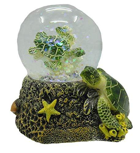 PIA International Glitzerkugel Schildkröte, Schneekugel Tier Tiere Schneekugeln Schildkröten