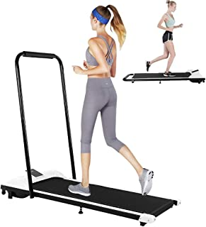 Folding Treadmill Walking Running Jogging Exercise Machine Remote Control Under Desk Treadmill for Home/Office Gym Cardio Fitness