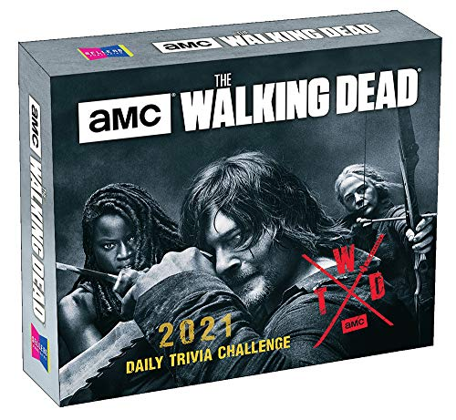 The Walking Dead 2021 Calendar: Amc Daily Trivia Challenge