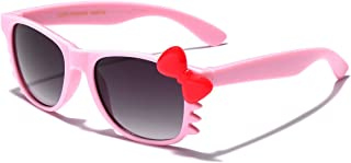 Baby Toddler Hello Kitty Bow Tie Kids Sunglasses for Girls Boys Age up to 4 Years