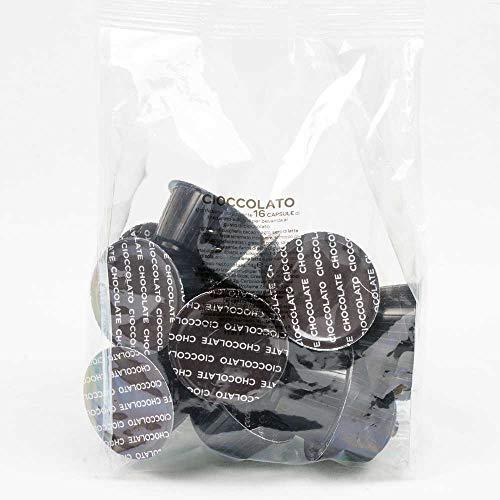 Selezione Solubili a Scelta 16 Capsule Compatibili Dolce Gusto Tisane Infusi The Cioccolato Orzo Cortado Nocciolino Cappuccino Latte Ginseng (Cioccolato)