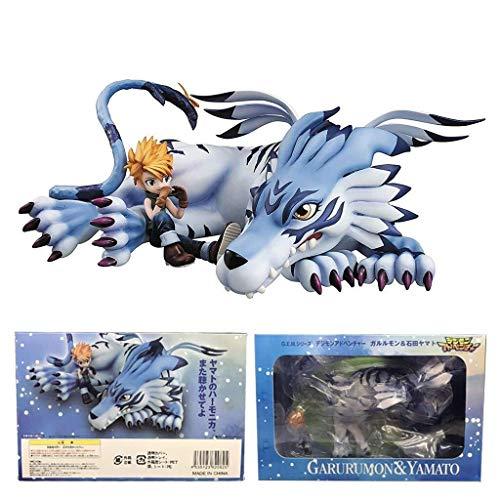 Digital Monster Digimon Abenteuer GEM Garurumon Yamato Action-figuren 6 zoll Spielzeug Modell Kindergeburtstagsgeschenk Spielzeug for Auto Dekoration Home Deco Sammlung