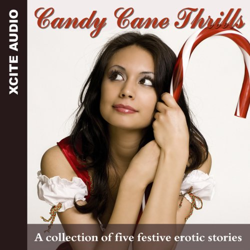 Candy Cane Thrills audiobook cover art