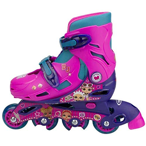 LOL SURPRISE- línea T2 (34-37) de LOL Patines Patinaje Unisex Infantil, Color (Multicolor), única (DARPEJE OLOL032)