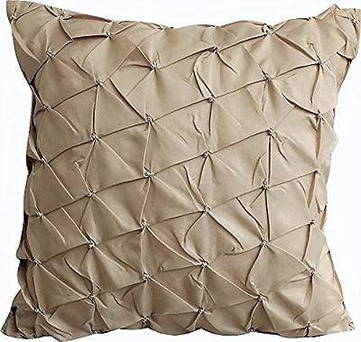Amazon.com: Lavanda almohadas cubierta, Textured Knotted ...