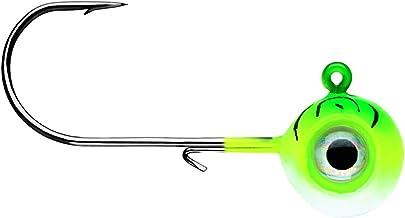 VMC Neon Moon Eye Jig 1/8 Green Fire UV