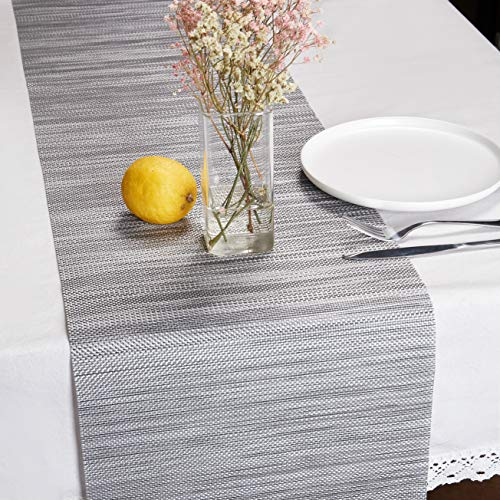 DOLOPL Table Runner Grey Table Runners Outdoor Table Runner 12