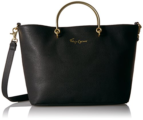 Foley + Corinna Limelight City Ring Tote, black