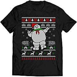 Stay Puft Marshmallow Man Christmas T-Shirt