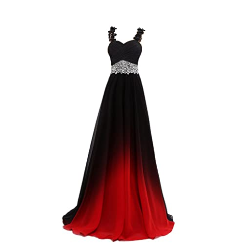Black And Red Gown Amazon