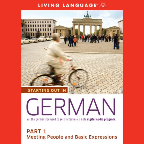 Starting Out in German, Part 1 audiobook cover art