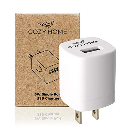 CozyHome Travel Plug Reise-Adapter - USB Reise-Stecker für die USA, China & weitere Länder | Mini US-Stecker Adapter Typ A (3X Reiseadapter)