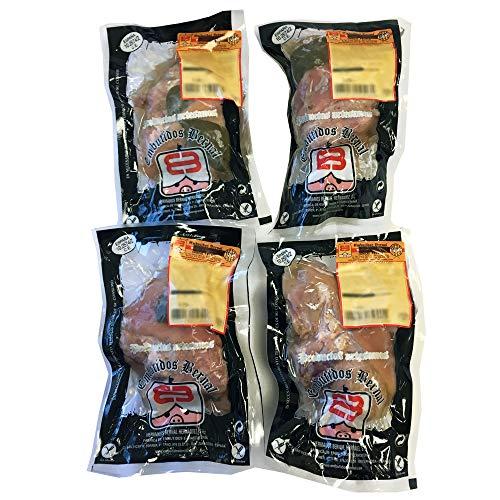 Embutidos Bernal - Lote de 4 Codillos de Cerdo Cocido en su Propio Jugo - 500gr por unidad (total 2Kg) - Cuatro raciones - Productos Elaborados en Aragón
