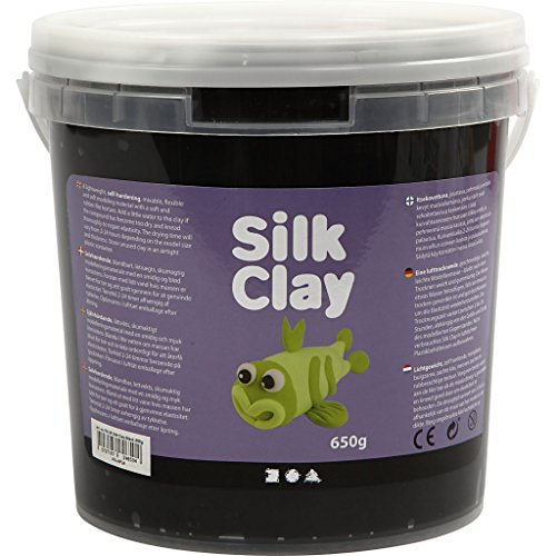Silk Clay® , negro, 650gr