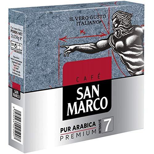 San Marco - Café Moulu Pur Arabica 500G - Lot De 3 - Prix Du Lot - Livraison En France Métropolitaine