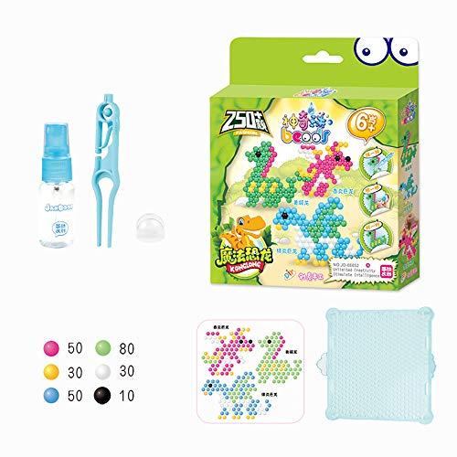 Water Fuse Beads Setzen Magische Wasserperlen Kinder Puzzle Lernspielzeug DIY Produktion Arts Crafts Geschenke,A