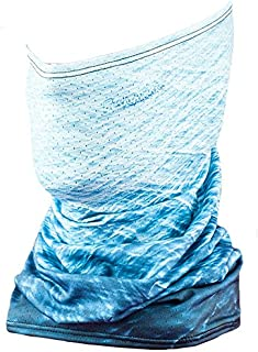 Fishmasks Single Layer Neck Gaiter - Lightweight Summer Protection From Sun, Surf, Wind And Moisture, For Men And Women - Fishing Single Layer Neck Gaiter Made In The USA - UPF 50+, Moisture-Wicking Performance Fabric