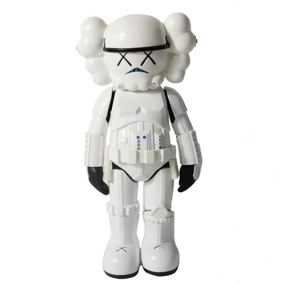 Original Companion Model Star Art Wars Toy 9.8 Height White Soldier Doll Collectible Action with Colored Package Famous Movie Character black
