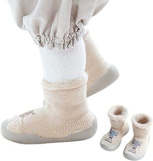 Bigood Newborn Toddler Baby Floor Socks Kids Cartoon Warm Anti-slip Slipper Sock