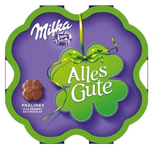Milka Alles Gute Pralinen - Feine Pralinés aus Alpenmilchschokolade mit Kakaocrèmefüllung - 12 x 50g