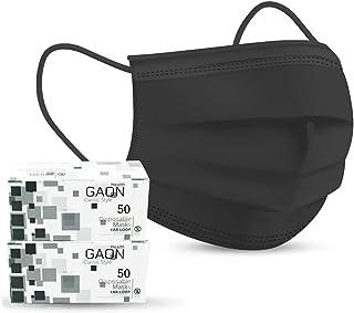 Gaon Innovación 100 Cubrebocas Tricapa Termosellado, Tapabocas Mascarilla Desechable, 3 Capas de Protección, Filtro Antiba...
