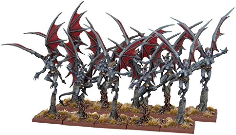 Mantic Games MGKWK241 Gargoyle Troop Miniature Model, Multicolour