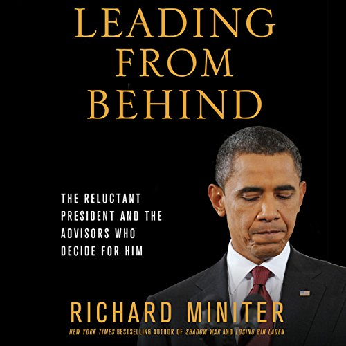 Leading from Behind audiobook cover art
