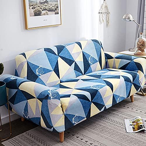Couchbezüge für Wohnzimmer,All-Inclusive High Stretch Universal Sofabezug,Four Seasons rutschfester Stoffcouchbezug,Für Sofasitzkissen G,2 seater
