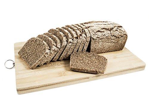 Pan ecológico artesanal con masa madre en horno de leña. Sabor tradicional exquisito. Envío GRATIS 24h. (Pan de Centeno 1kg aprox.)