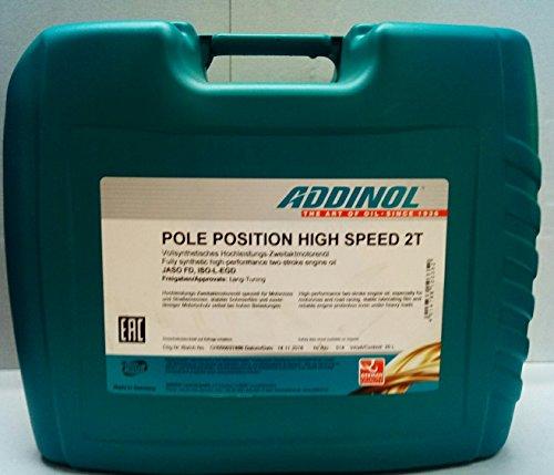Addinol Pole Position High Speed 2T Kanister 20 Liter Inhalt