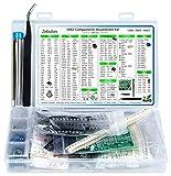 2900 pezzi SMD 1206 0805 0603 Assortimento di componenti, Resistore, Condensatore, Diodo, Transistor, OpAmp, IC, Saldatura, PCB, SMT Kit Assortito