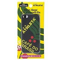 ATHLETA(アスレタ) iPhone5 5s/5se スキンシール ブラック 1