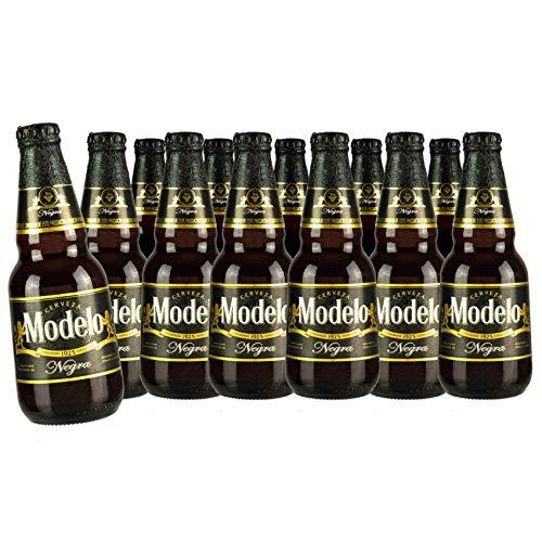 12 x Cerveza MODELO Negra, 5,3% vol. / Dunkles Bier aus Mexiko, Flasche 355ml